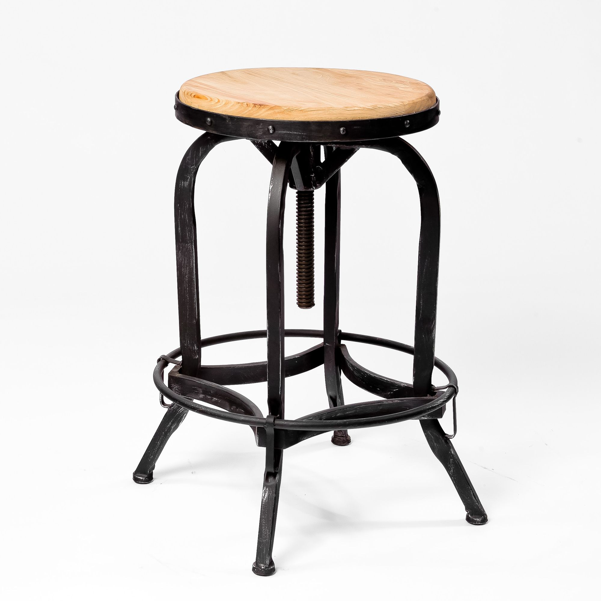 New Bar Stools Rustic Swivel