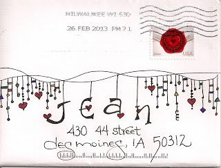Decorated Envelopes Mail Art Snail Mail  Mail