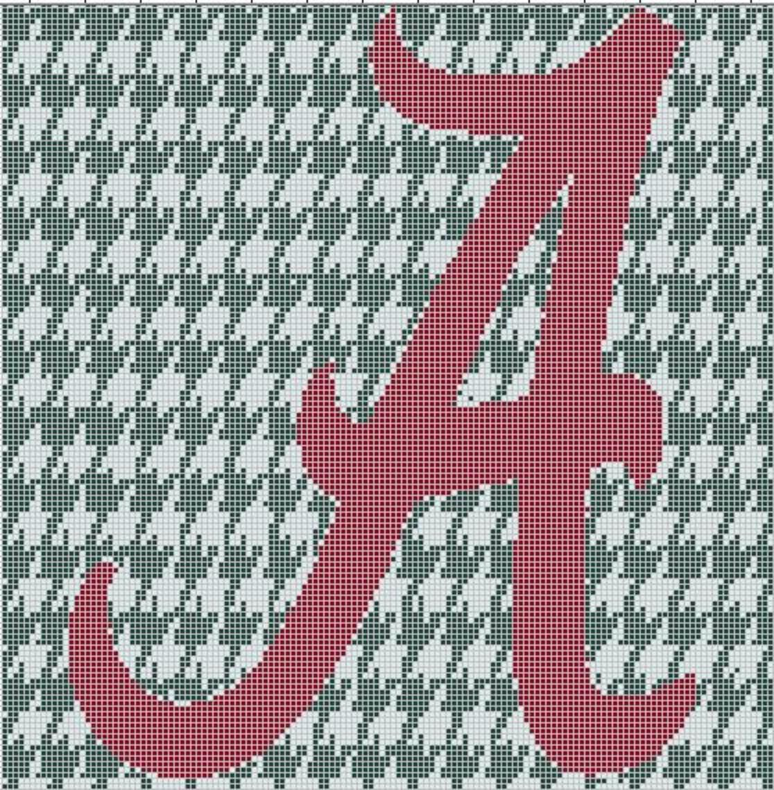 A on houndstooth crochet afghan pattern graph 35 stuff i 3 a on houndstooth crochet afghan pattern graph 35 bankloansurffo Images