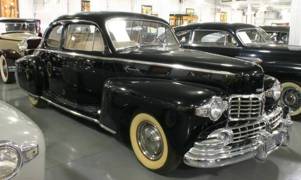 1947 Lincoln Continental Coupe Photographed At The Sunbelt Auto
