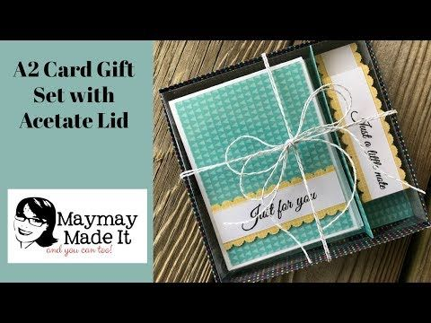 197 a2 card gift set tutorial youtube gift card sets