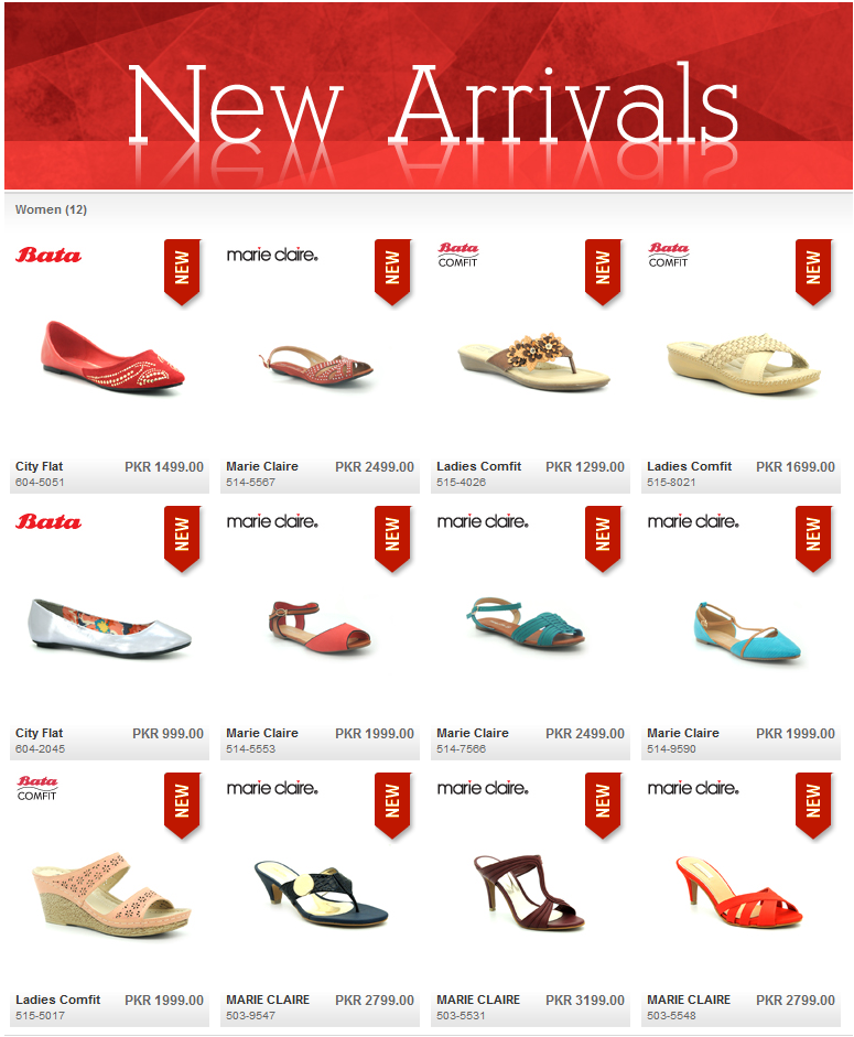 Bata Ladies Shoes New Arrival 2015 Collection with Price List. Bata Shoes  have Marie Clair and Bata Comfit Comfortable Women Shoes Design