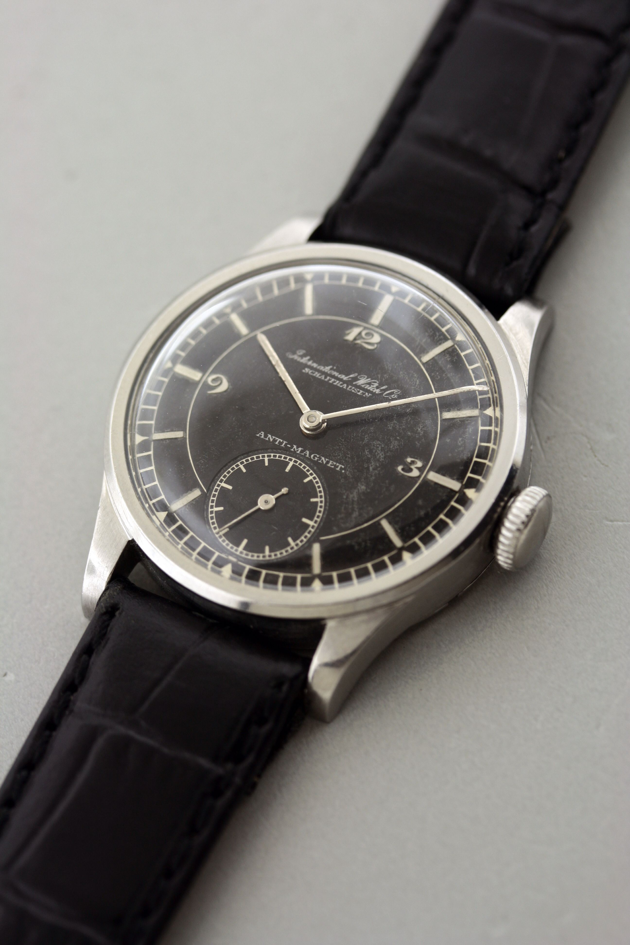 f3e7c50ca2b9 IWC 1940 s Men s Casual Fashion, Iwc, Vintage Watches, Seiko, Cool Watches,