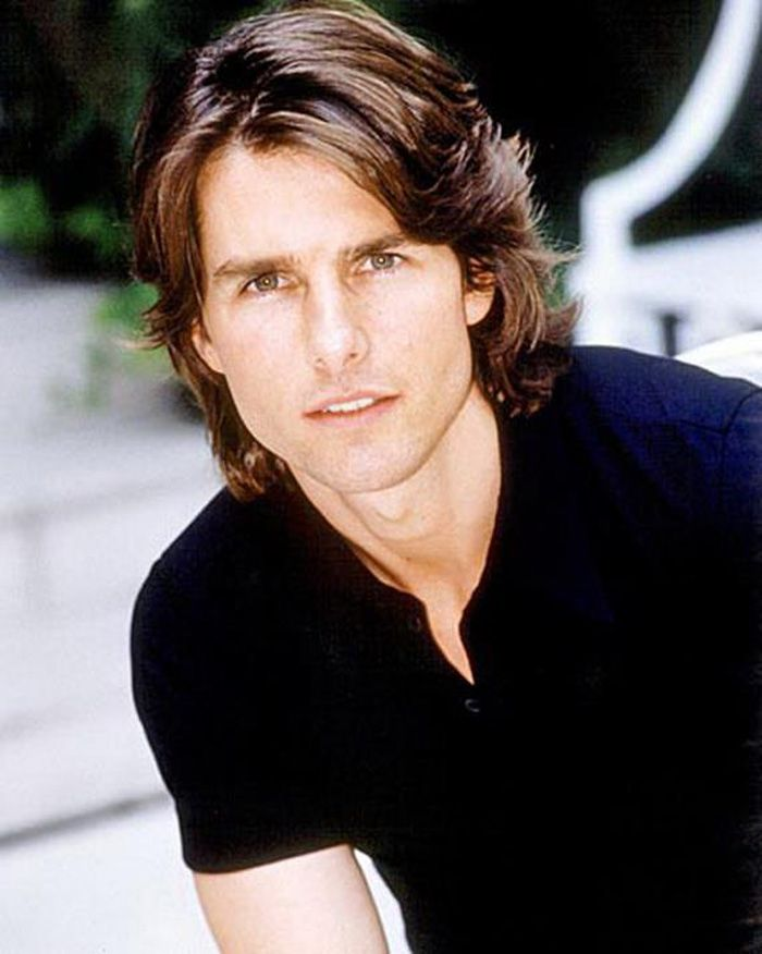 Long Layered Hairstyle For Men Tom Cruise Haircut Tom Cruise