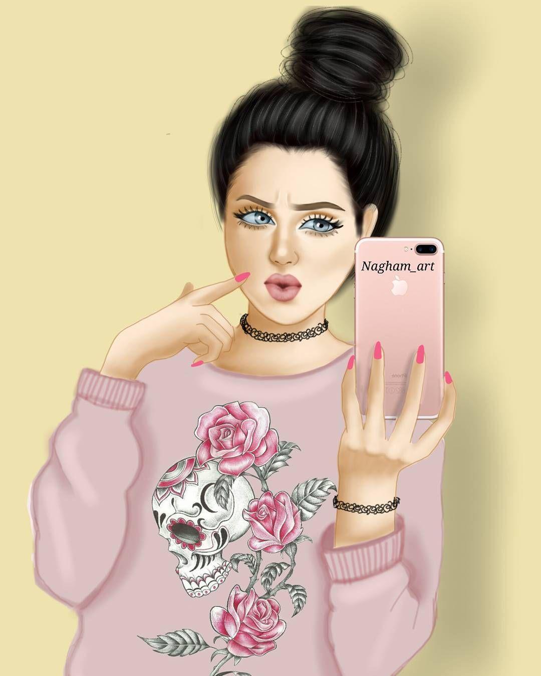 صور بنات كرتون حزينه رومانسيه رمزيات انمي كرتونيه Cute Girl Wallpaper Beautiful Girl Drawing Girly M