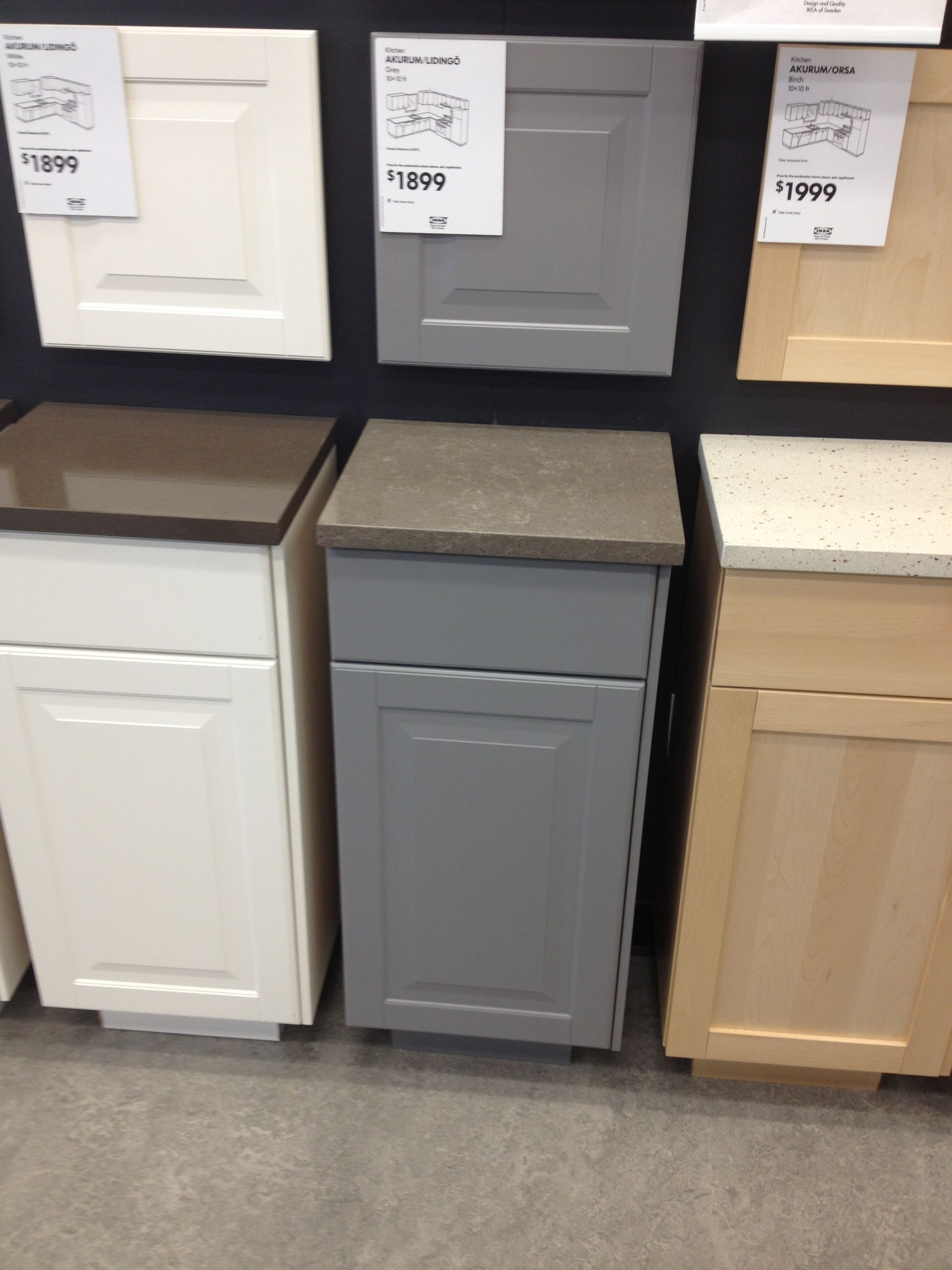 Ikea grey kitchen Kitchens in 2019 Grey kitchen