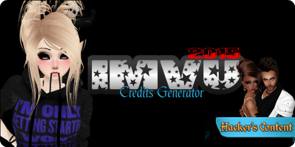 Imvu Credits Generator it's a must have tool for every IMVU player. With this new release you will be able to generate virtually unlimited free imvu credits