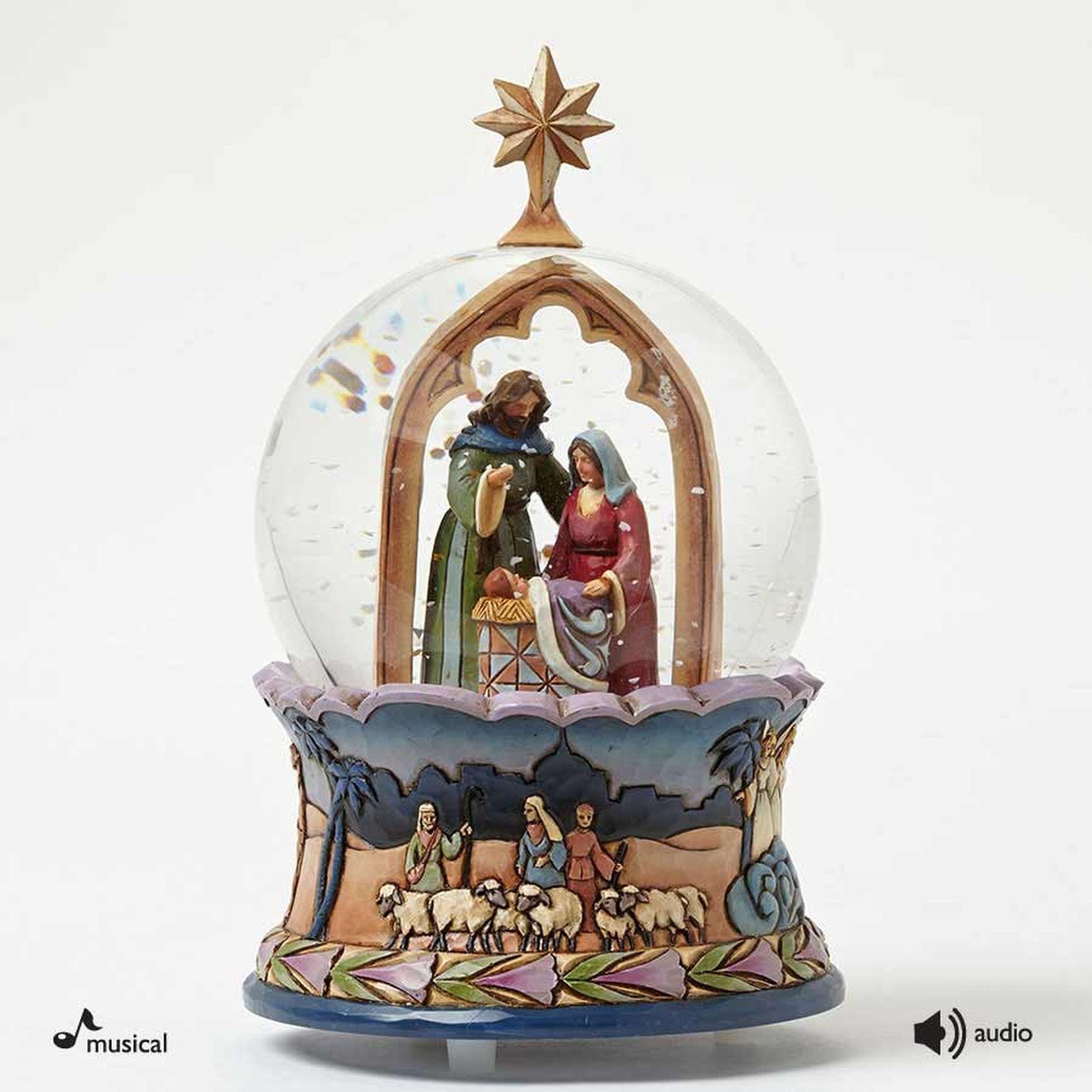 Nativity Musical Waterball | Christmas Nativity Scenes | Snow globes, Christmas globes ...