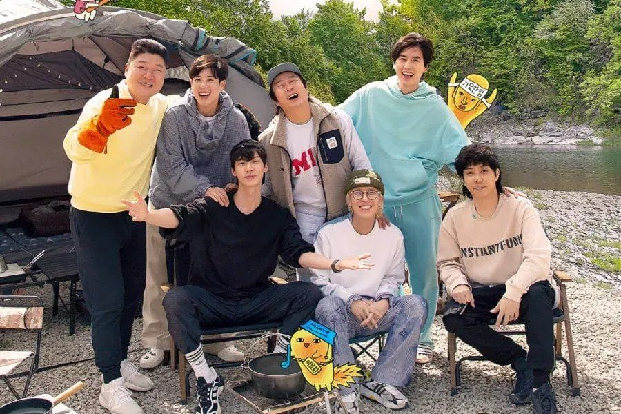 """New Journey To The West"" Spin-Off ""Spring Camp"" Unveils New Poster Including Ahn Jae Hyun"