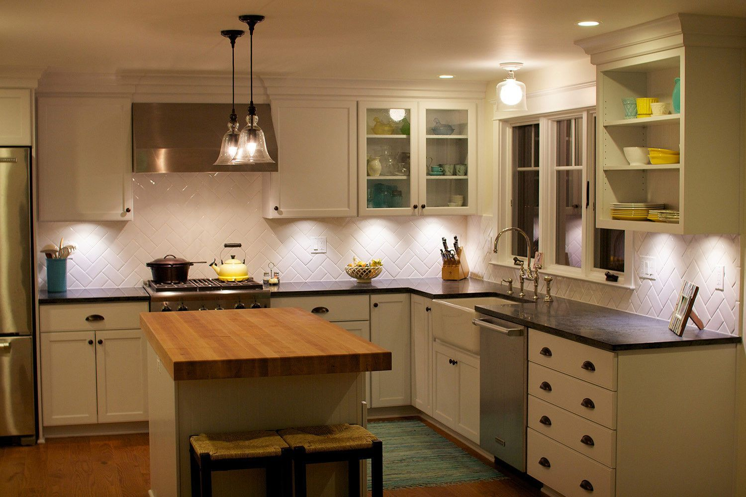 Pin By Leslie W On Kitchen Ideas Kitchen Lighting Layout