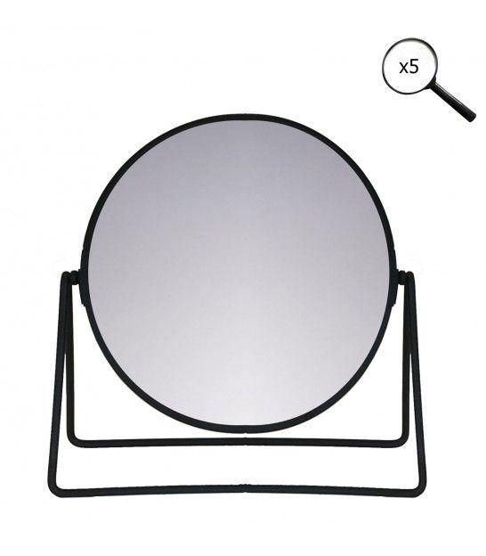 Miroir Grossissant X3 Lumineux Sur Pied Lola Miroir Grossissant Miroir Miroir De Salle De Bain