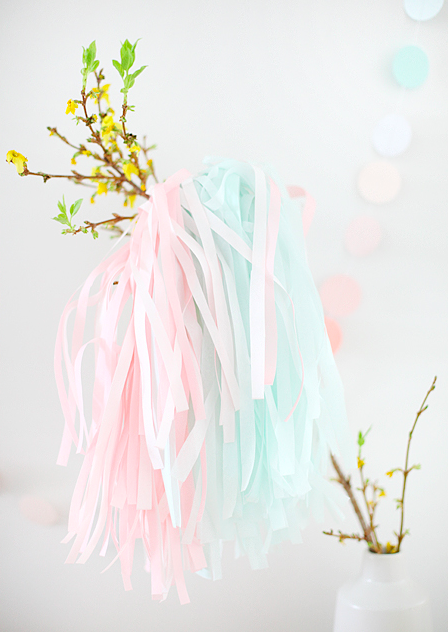 Pastel decorations...