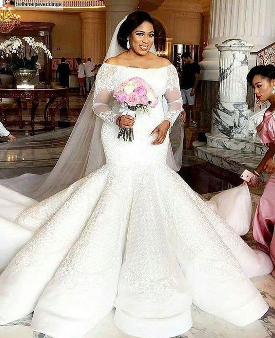 Haute Couture Plus Size Lace Wedding Gowns In 2019