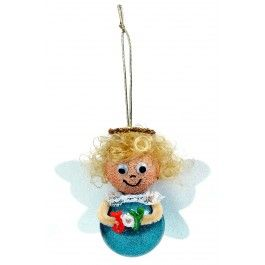 Nicole™ Crafts Angel Bubble Ornament