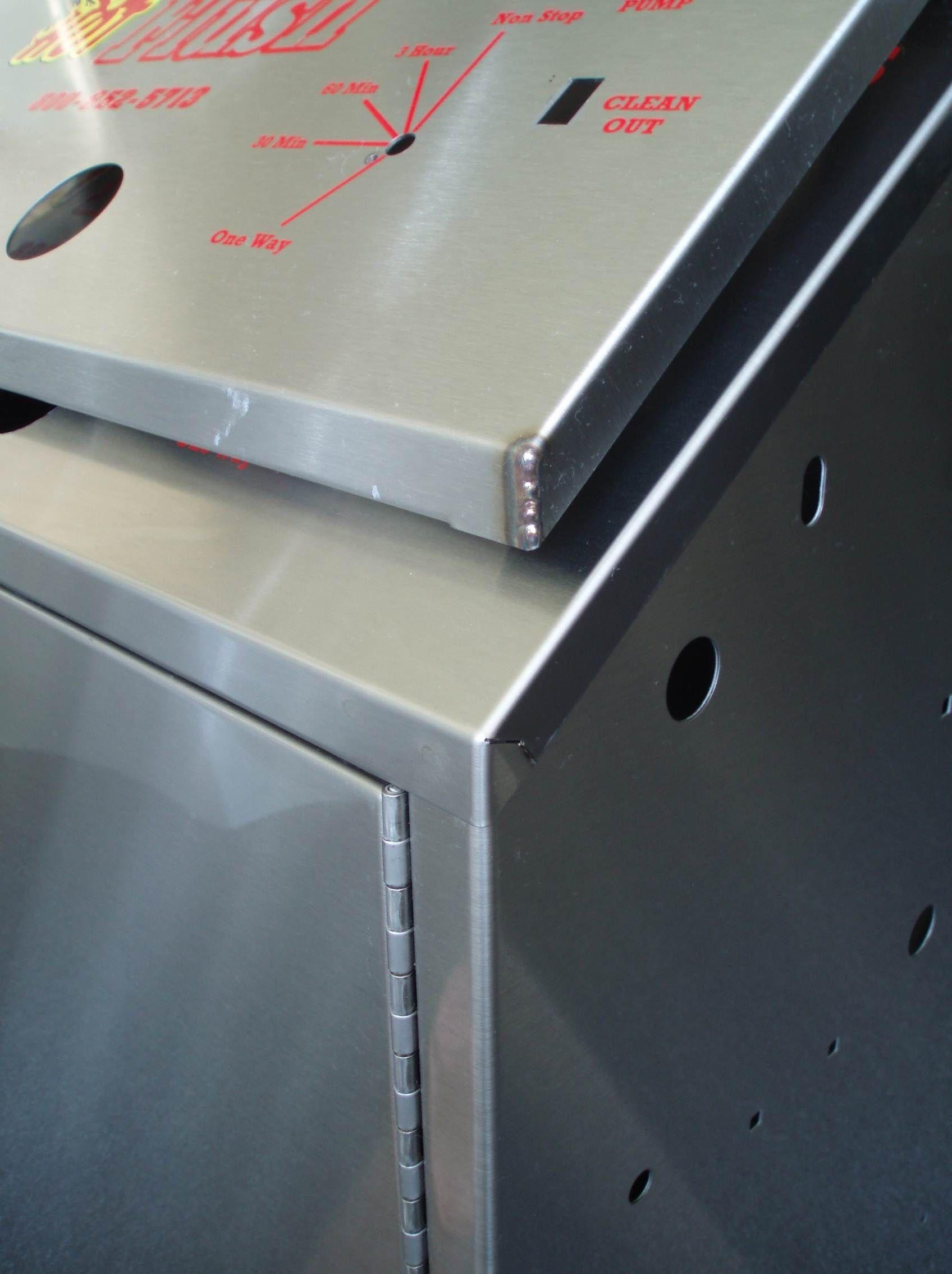 Automated Sheet Metal Panel Bending Sheet Metal Bending Manufacturers Dalsin Industries In Sheet Metal Fabrication Metal Furniture Design Sheet Metal Work
