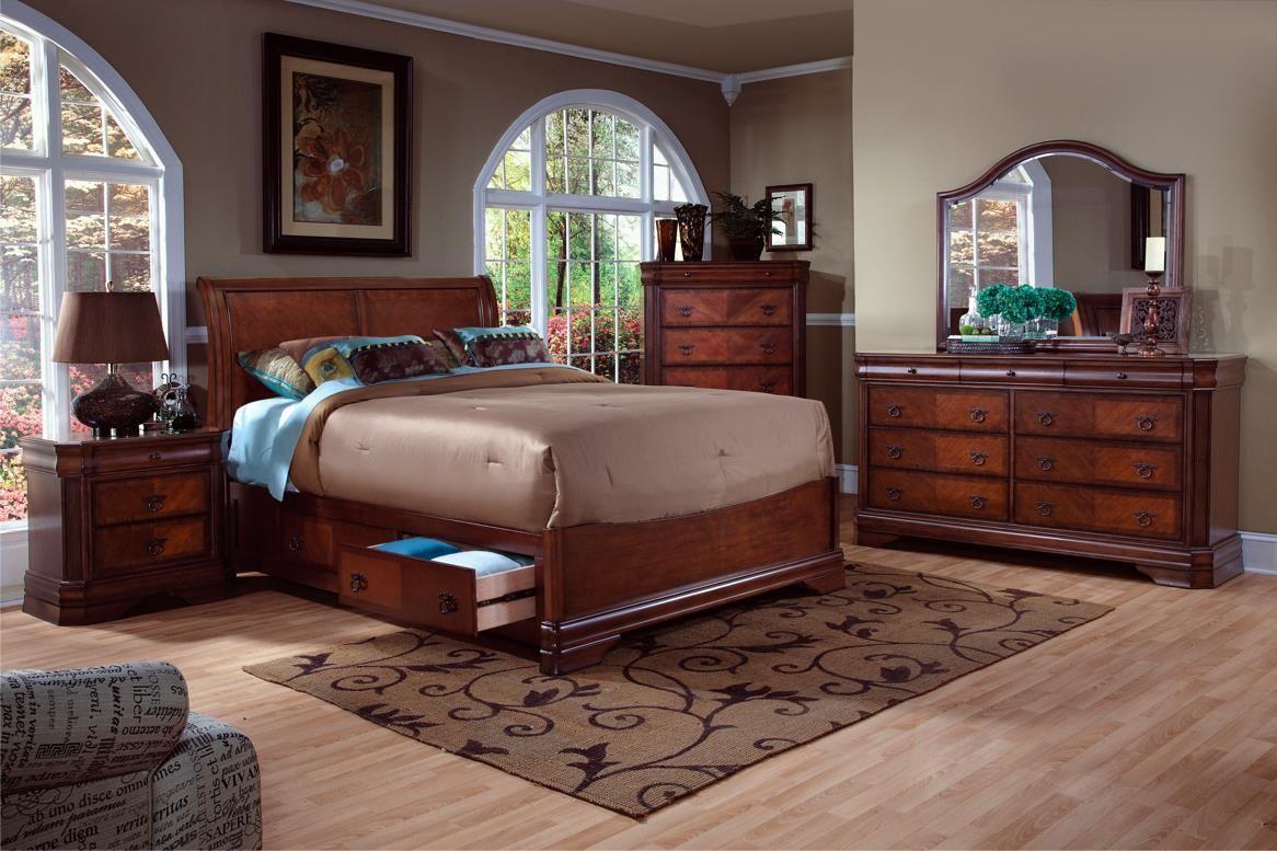 Bedroom Sets Sacramento sheridan queen bedroom groupnew classic | bedroom sets