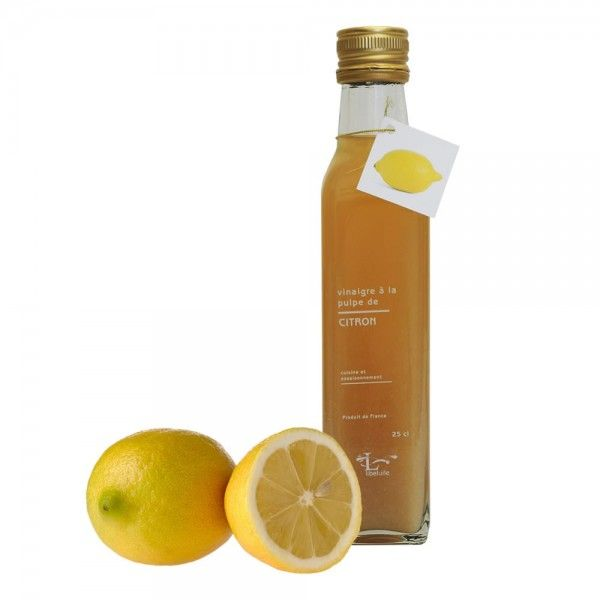 vinagre de pulpa de limon