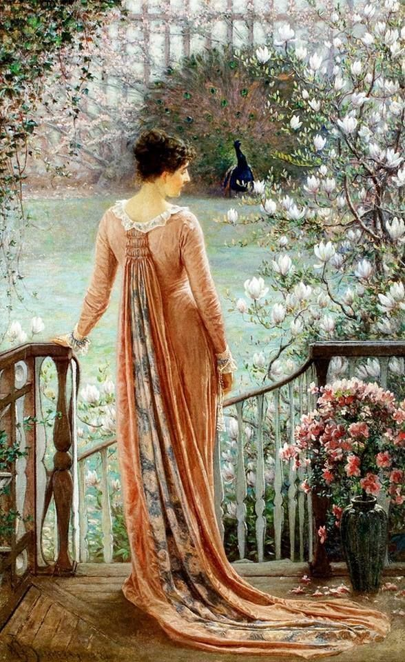 William John Hennessy - Una fantasía de primavera (1880).
