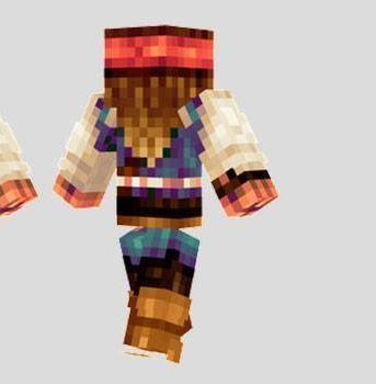 Captain Jack Sparrow Skin Para Minecraft Minecraft Pcgames - Skin para minecraft o