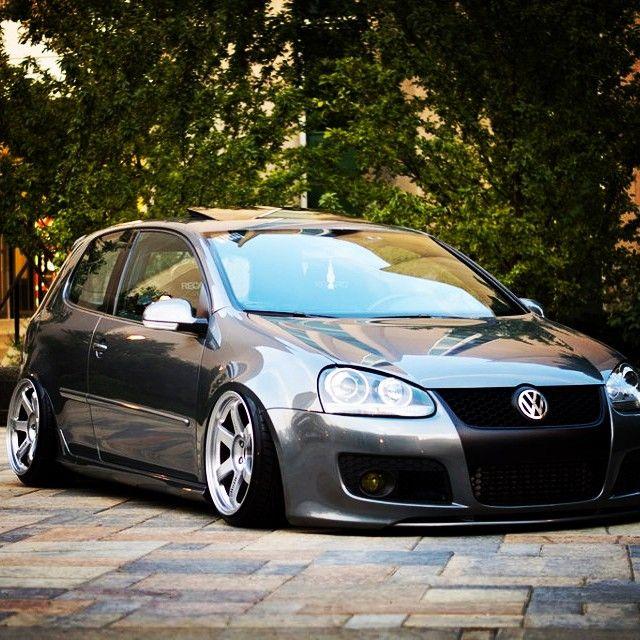 Golf 7 gti black modified