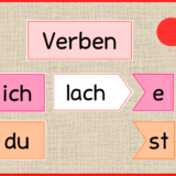 Verben Tafelmaterial Verben, Schulideen, Grundschule
