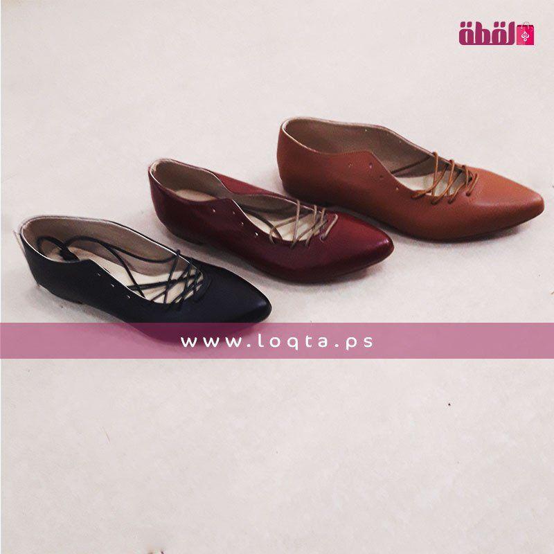حذاء نسائي صيفي فلات طرف مدبب مع رباط Summer Shoes Womens Flats Shoes