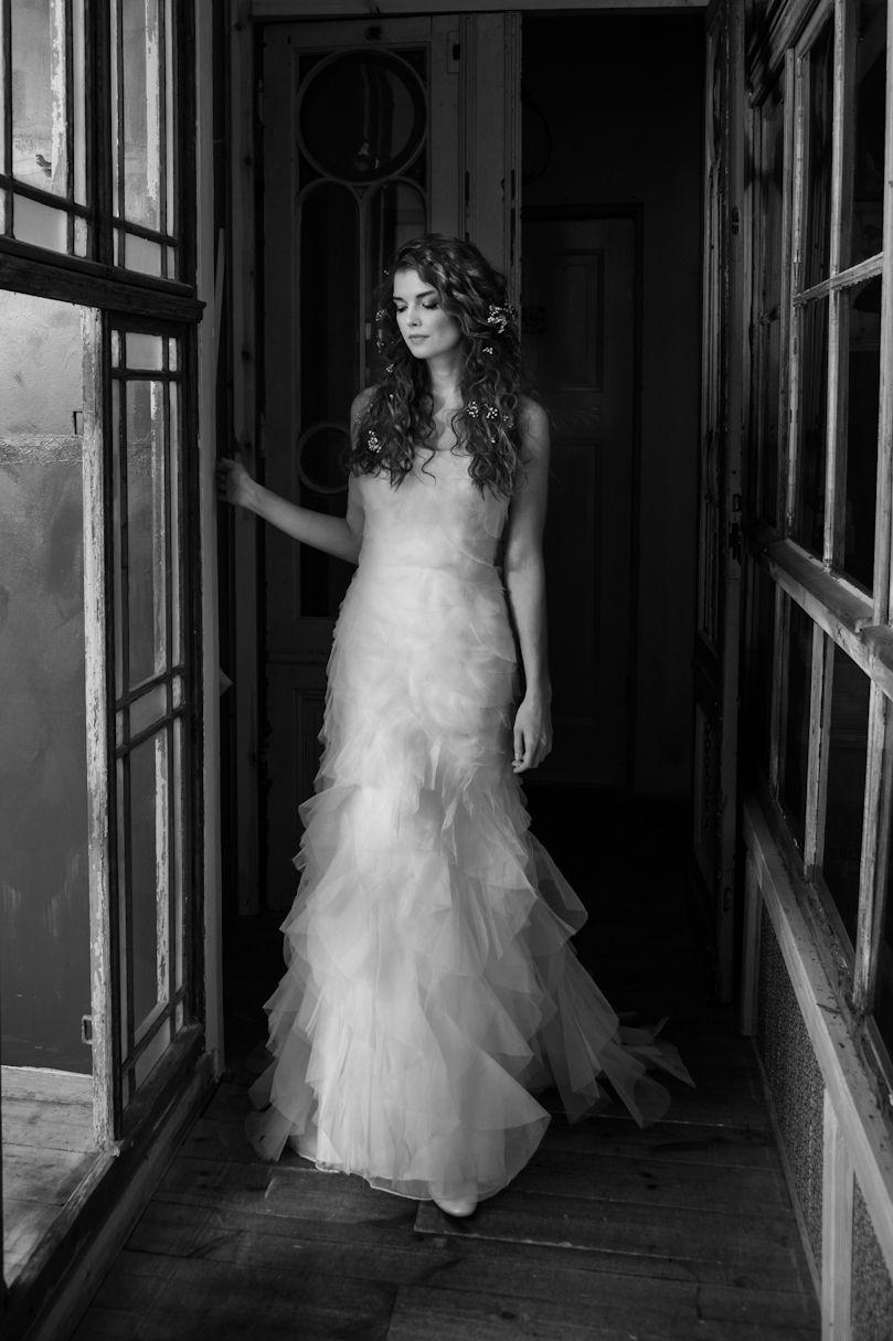 Felicita Design: wedding dress Dinora, silk organza, bride ...