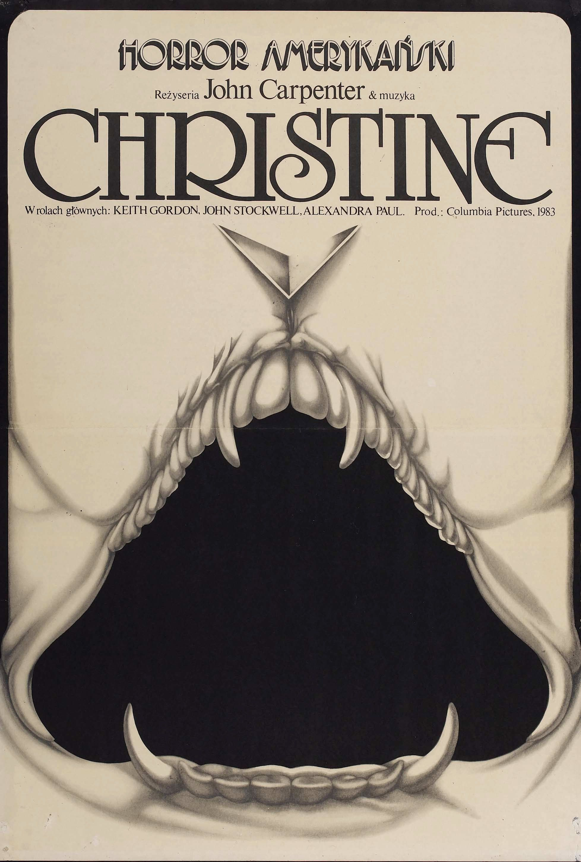 The 50 Greatest Horror Movie Posters Of All Time Christine Film