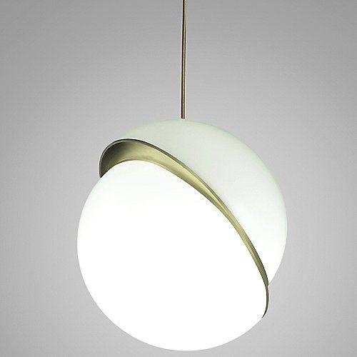 Crescent Light Pendant By Lee Broom At Lumens Com With Images Pendant Lighting Led Pendant Lights Drum Pendant Lighting