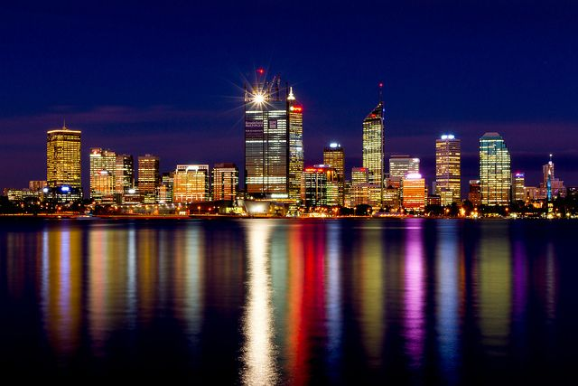 Perth Skyline - Western Australia by I will be home soon, via Flickr