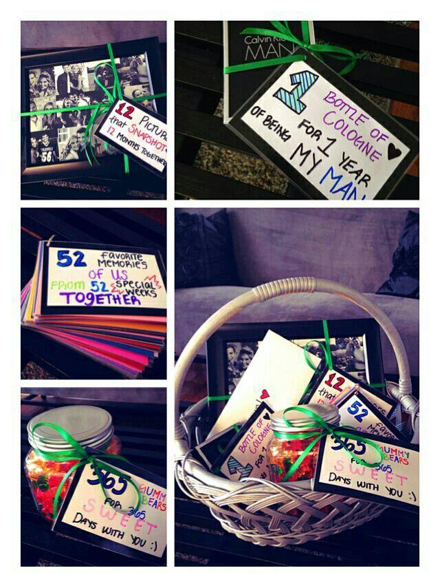 One Year Anniversary Boyfriend Gifts Gifts Anniversary Gifts