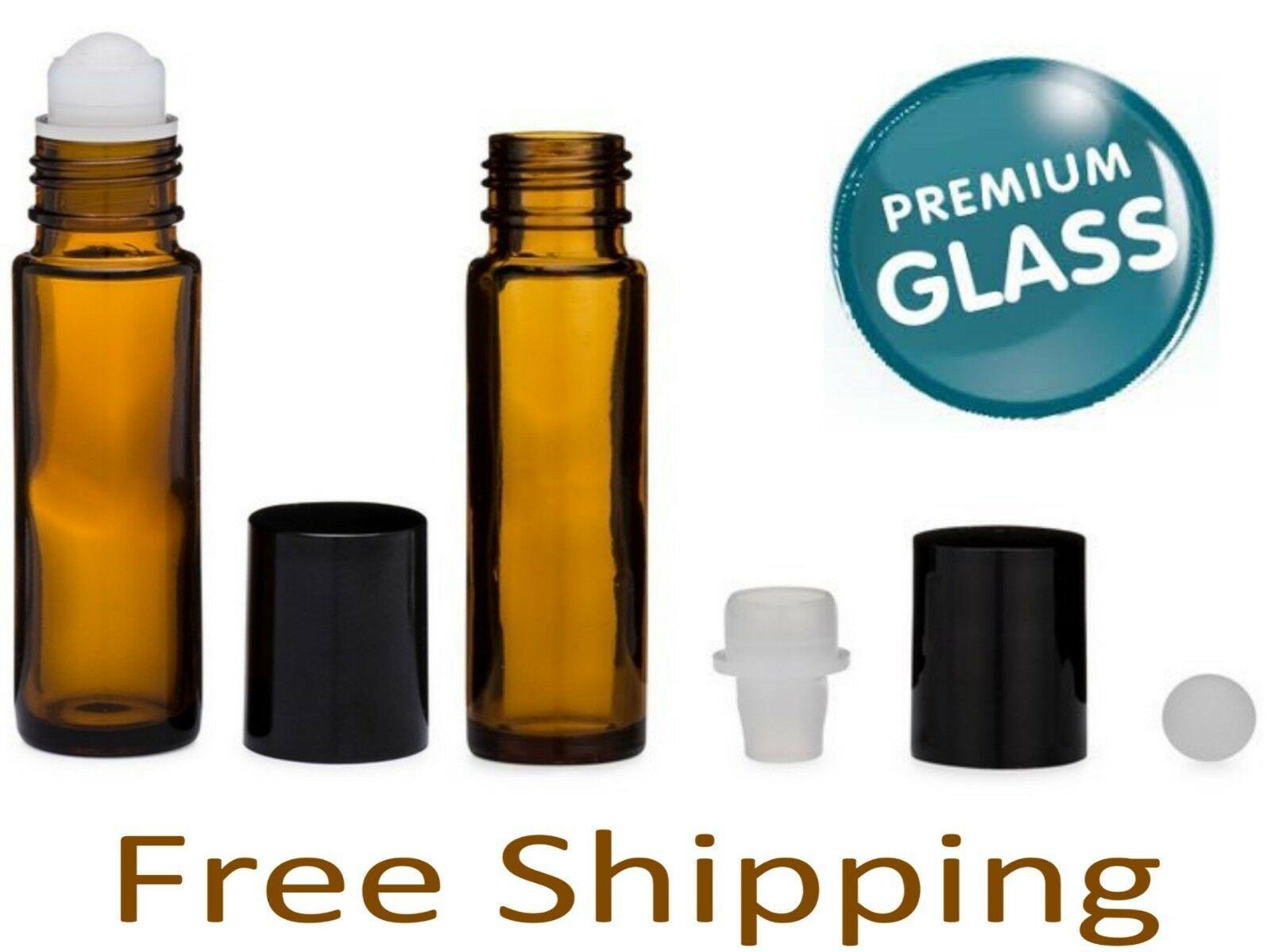 Essential Oil Amber Glass Roll On Roller Bottles 10ml Empty Lot Set Refillable Amber Bottles Ideas Of Amber Bottles Amberbottles Amber Bottles In 2019 Amber Bottles Amber