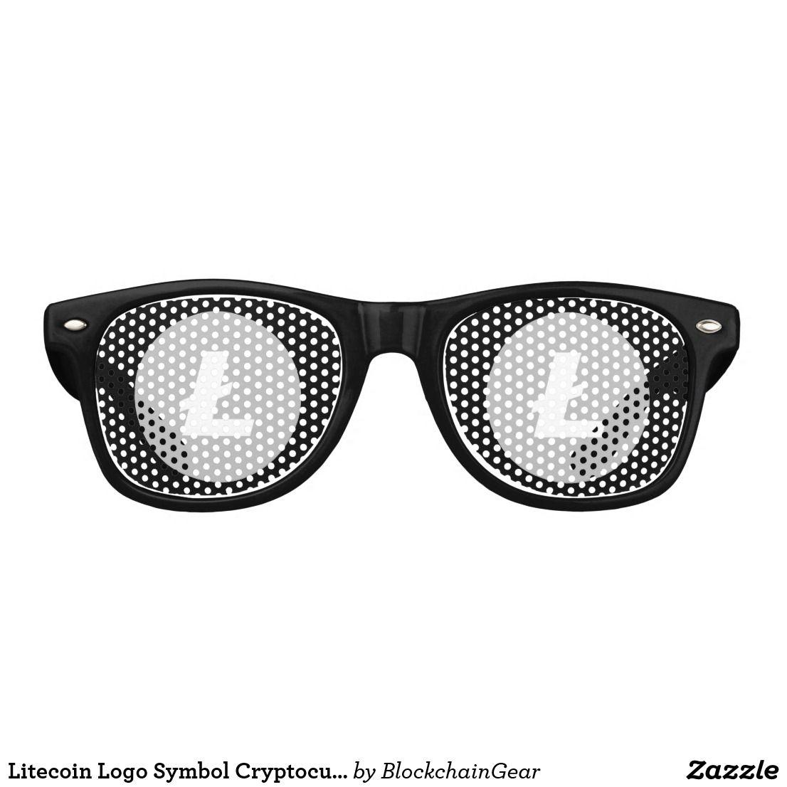 Litecoin Logo Symbol Cryptocurrency Sunglasses Blockchain Gear