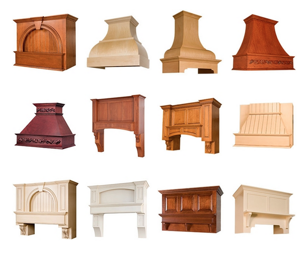 A world of embellishment options is possible with #custom range hoods and arched…