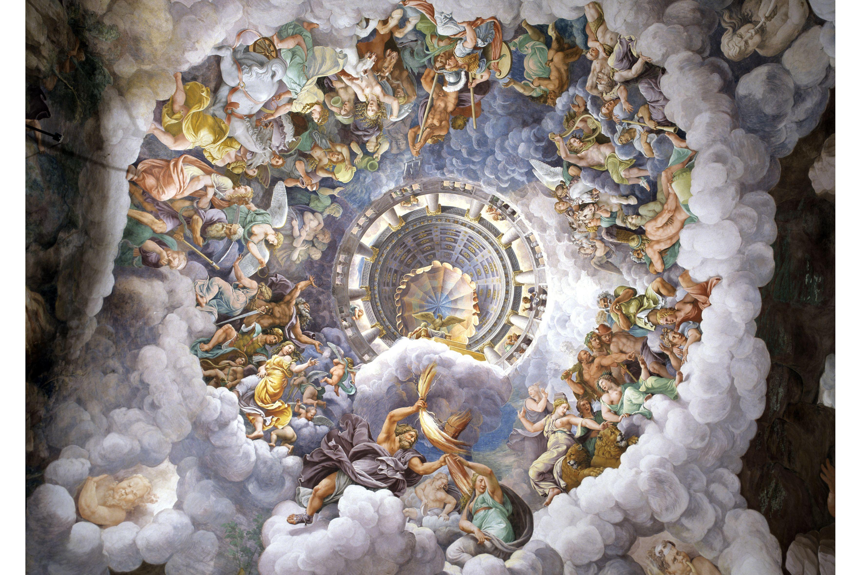 Palazzo te giulio romano camera dei giganti foto di for Camera dei