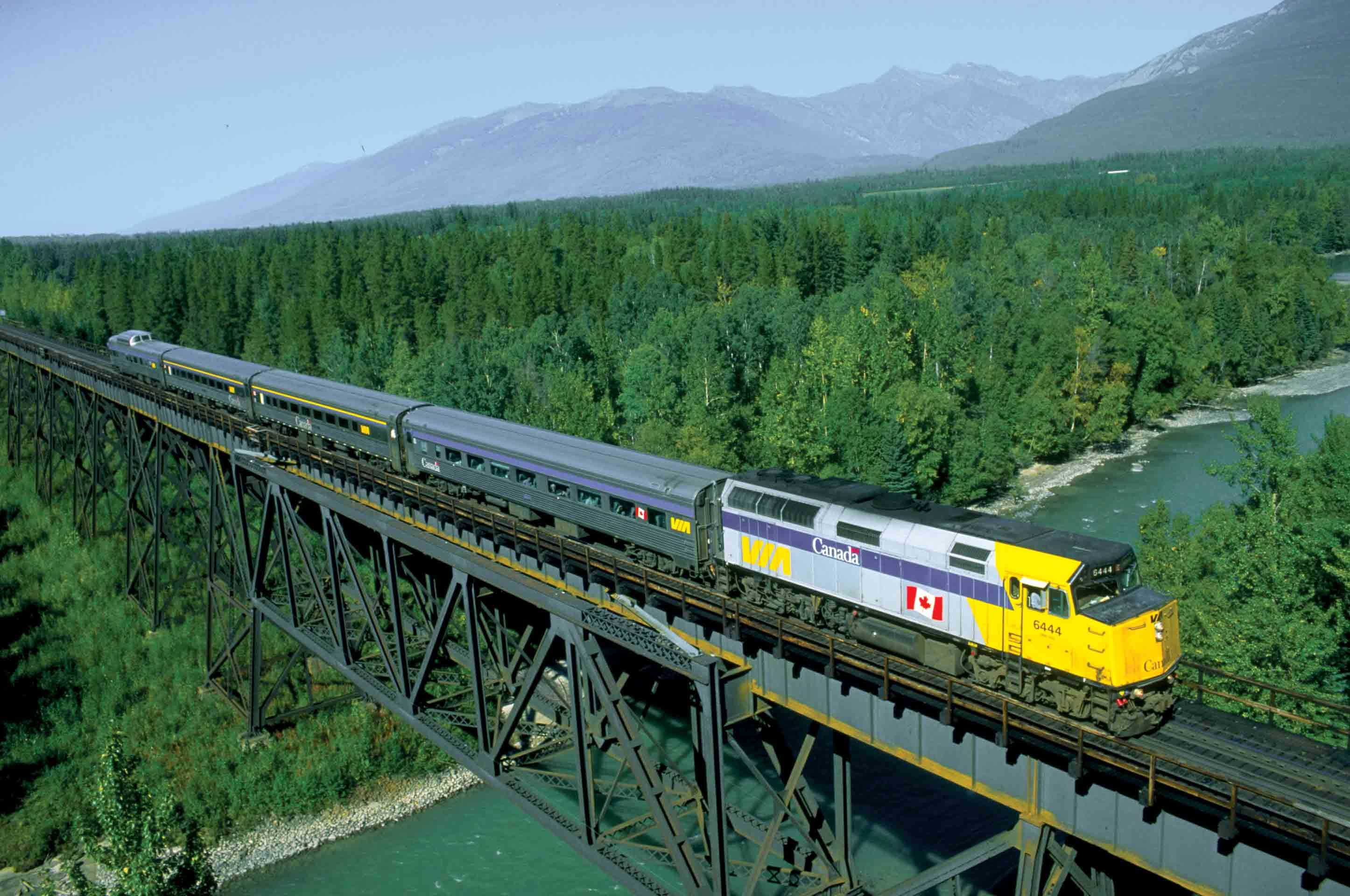 Pin canadian national railroad map on pinterest - Via Rail Canada S Skeena Travel By Train On The Skeena On One Of Our Vacations