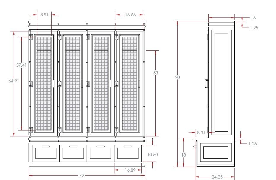 Image Result For Mudroom Cubby Dimensions