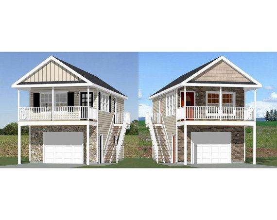 16x32 1 bedroom tiny houses 2 separate plans 29 99 each nice looking apartment over 1 car garage or the garage could be a shop or craft room