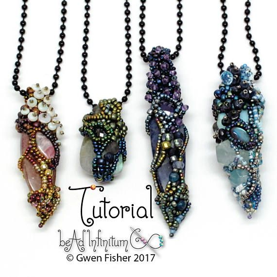 Learn to bead weave a pendant using free form peyote stitch these i recently updated an old tutorial on free form beaded pendants ten years ago i wrote instructions to show how to stitch a fairy chrysalis mozeypictures Choice Image