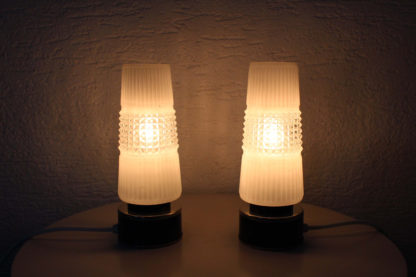 Paire de lampe de chevet Art Deco années 3040   Lampe art