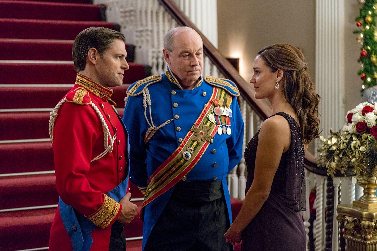 a royal new year's eve hallmark Movie stars, Family