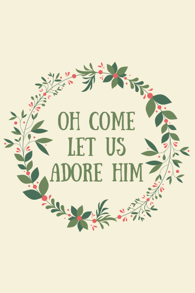 oh come let us adore him freeprintable via httpkaitlynbouchilloncom