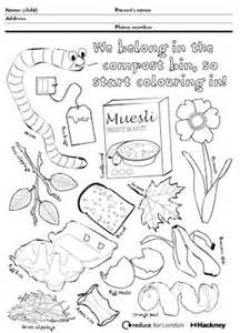 Image Result For Compost Coloring Sheet Edible Garden