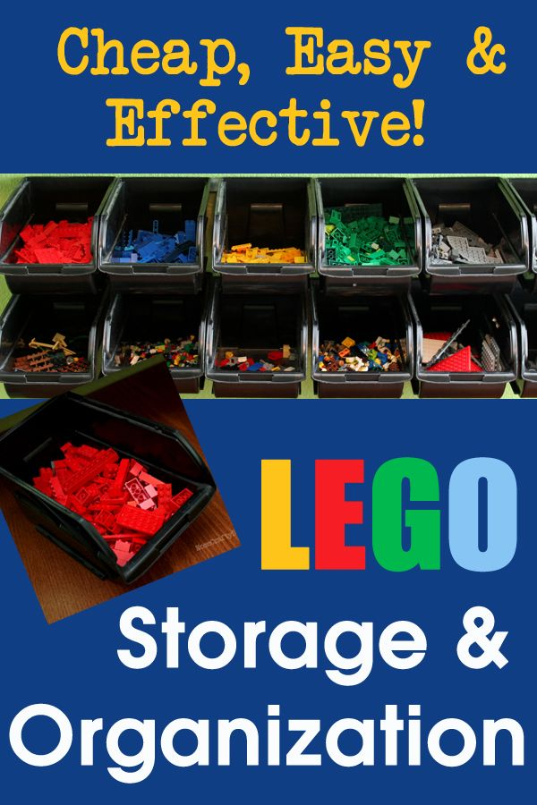Cheap U0026amp; Easy LEGO Storage Organizer | Happiness Is Homemade Storage  Organization, Kids Storage