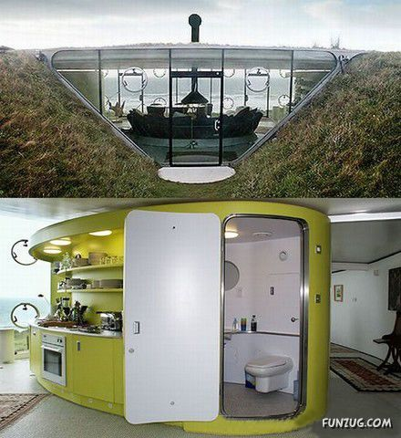 coolest housing | Top 10 Coolest Underground Houses