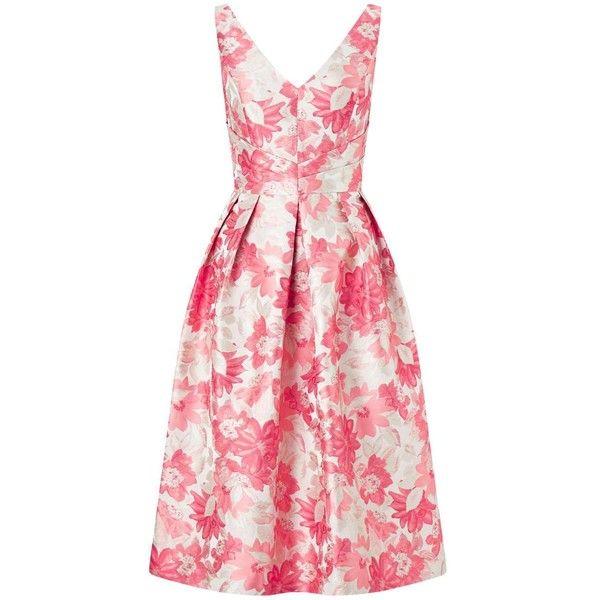 Miss Selfridge PREMIUM Jacquard Prom Dress (482.195 IDR) ❤ liked on ...