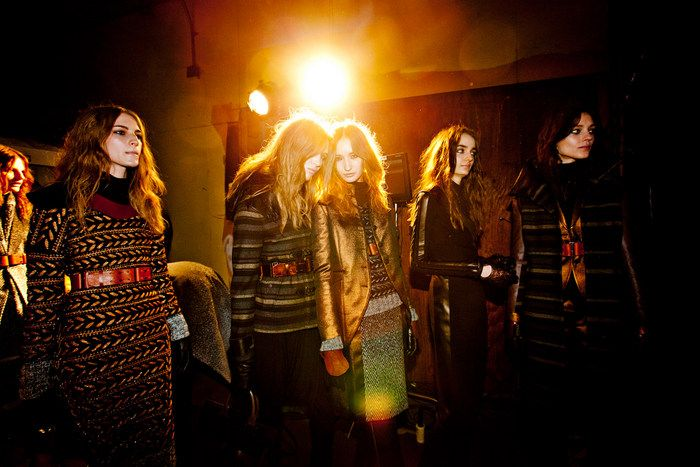 models backstage