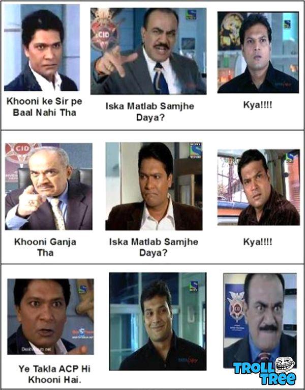 Funny Jokes on Abhijit, Daya, ACP - Trolltree