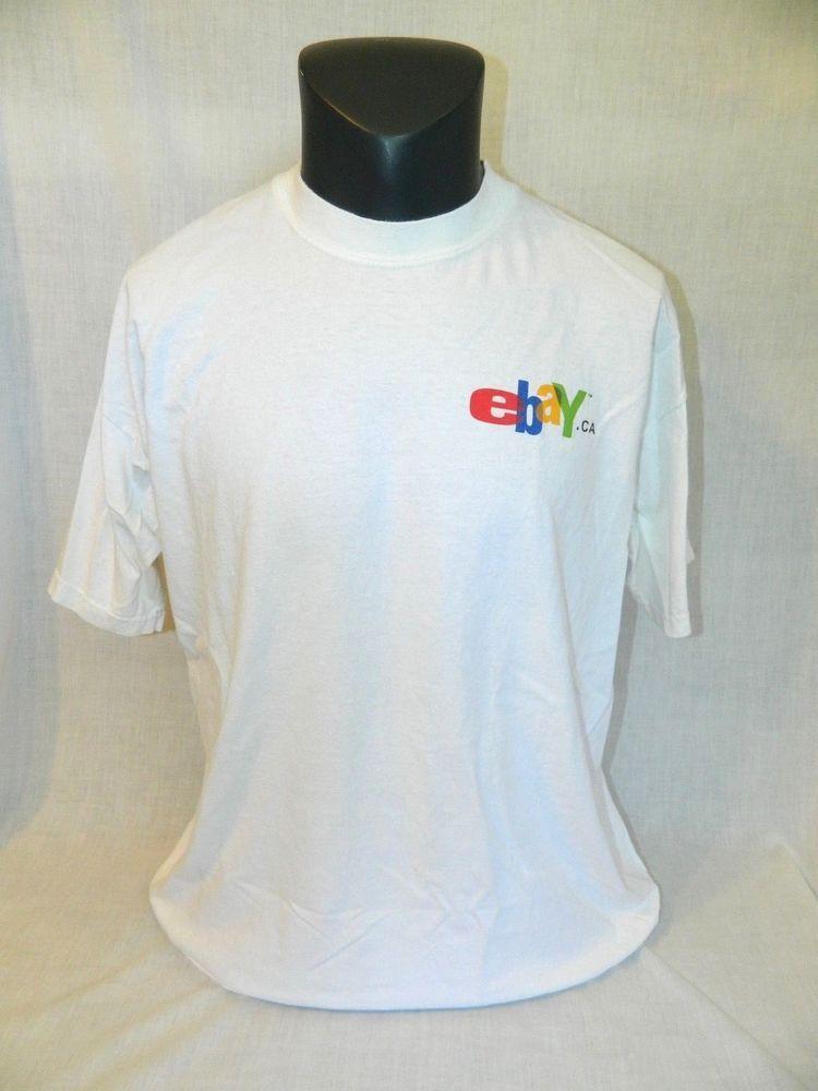 Details About Ebay Canada T Shirt Ebay Ca Adult Xl Moose Logo White