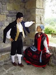 Asturias Folk Clothing Traditional Outfits Celtic Costume